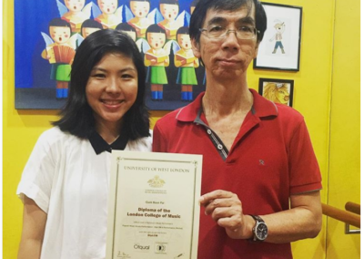 Quek with his DipLCM in Pop Music Vocals